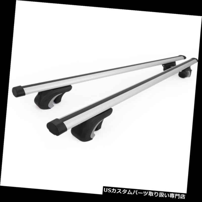 カーゴ ルーフ キャリア Acura MDX / RDXアルミルーフラック48インチクロスバー調節可能キャリア Fit Acura MDX/RDX Aluminum Roof Rack 48