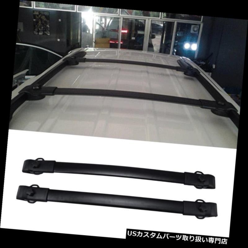 カーゴ ルーフ キャリア 2011-2017トヨタシエナ用ルーフラッククロスバーサイドレールラゲッジキャリア Roof Rack Cross Bar Side Rail Luggage Carrier For 2011-2017 Toyota Sienna