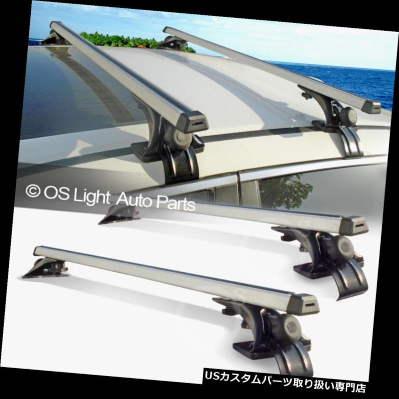 カーゴ ルーフ キャリア ルーフトップレールレスクロスバーラックキャリー荷物クロスバーフィットセダン/クーペ/ワット ゴン Roof Top Rail-Less Crossbar Rack Carry Luggage Cross Bars Fit Sedan/Coupe/Wagon