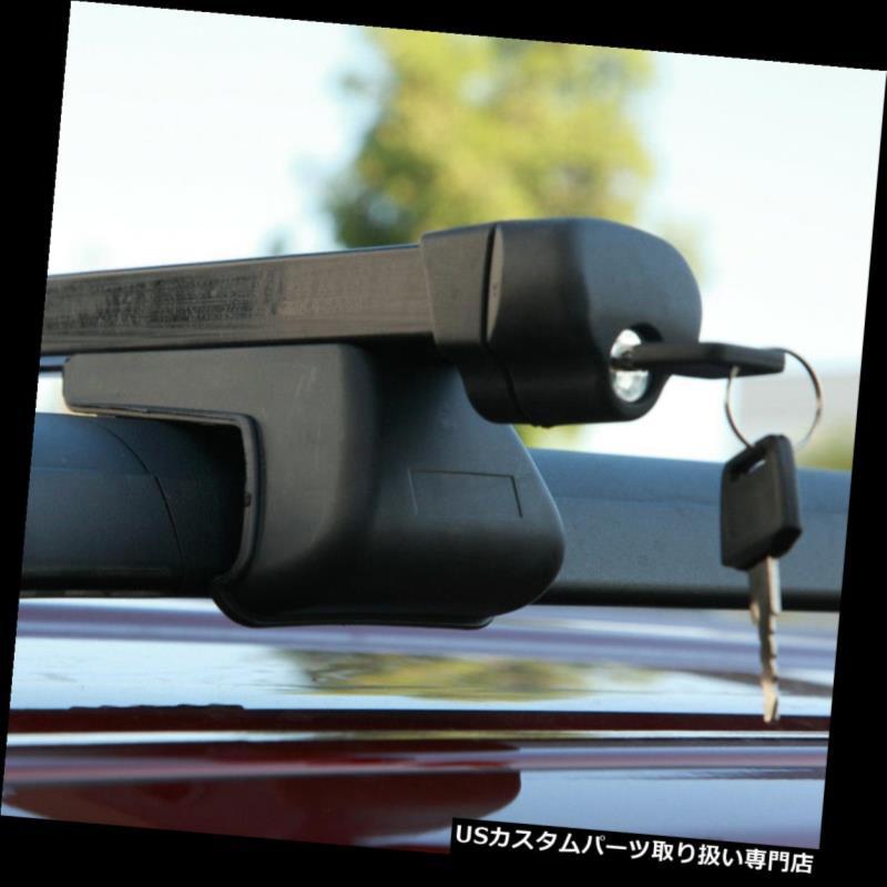 カーゴ ルーフ キャリア FORDヘビーデューティースチールルーフラック48インチクロスバー調整式キャリアキット Fit FORD Heavy-Duty Steel Roof Rack 48