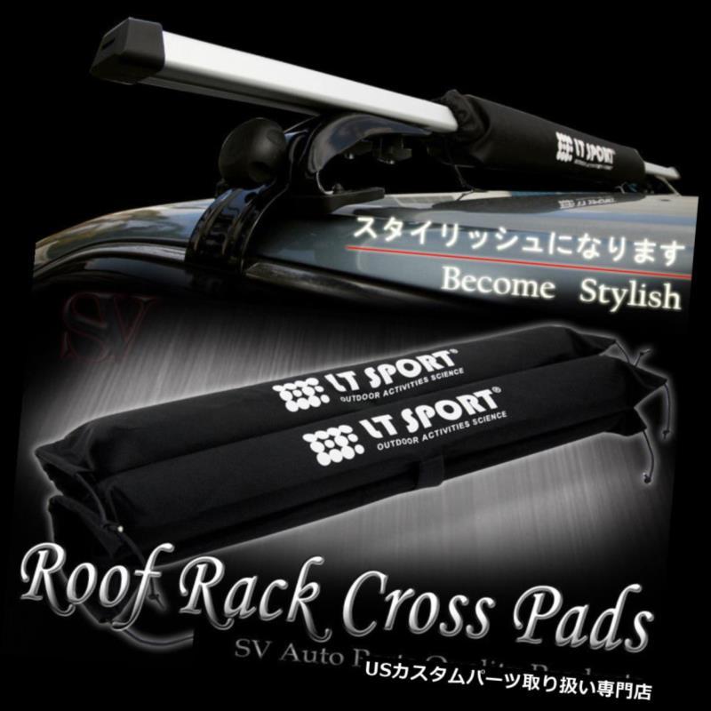 カーゴ ルーフ キャリア アキュラBMWアウディ+パッドコンボ用ルーフトップラックキャリーカヤックスノーボードクロスバー Roof Top Rack Carries Kayak Snowboard Cross Bar For Acura BMW Audi +Pad Combo
