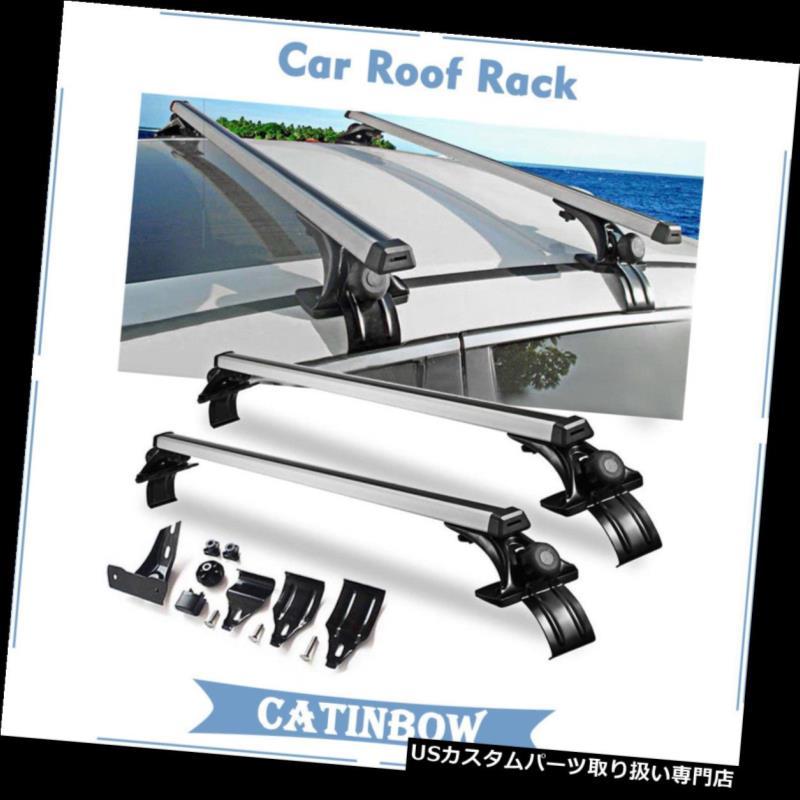 カーゴ ルーフ キャリア カートップルーフクロスバー荷物カーゴキャリアラックSUV(3種類)クランプユニバーサル Car Top Roof Cross Bar Luggage Cargo Carrier Rack SUV w/ 3 Kinds Clamp Universal