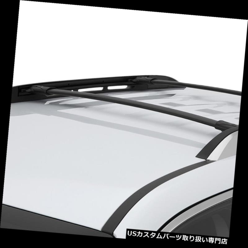 カーゴ ルーフ キャリア 2倍アルミルーフラックトップレールクロスバー貨物キャリア10-17春分/地形 n 2x Aluminum Roof Rack Top Rail Cross Bar Cargo Carrier For 10-17 Equinox/Terrain