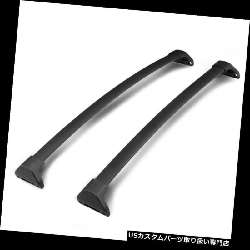 カーゴ ルーフ キャリア フィット14-18アキュラMDX OEスタイルアルミルーフラックレールクロスバー荷物キャリア Fit 14-18 Acura MDX OE Style Aluminum Roof Rack Rail Cross Bar Luggage Carrier