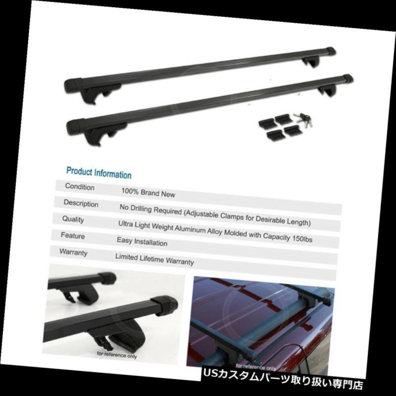 "USカーゴ、ルーフ キャリア 48 ""クロスバーレールタワールーフトップラック貨物キャリア+レクサス用キーロックセット 48"" Cross Bars Rail Tower Roof Top Rack Cargo Carrier + Keylock Set For Lexus"