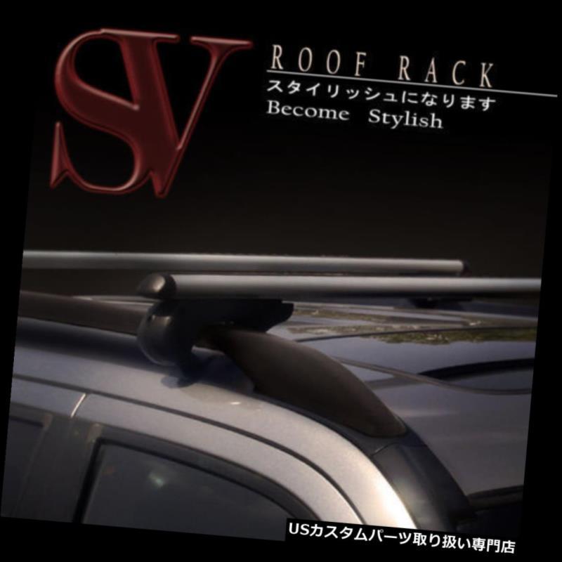カーゴ ルーフ キャリア ランドローバーのキーロックセットが付いているアルミニウム実用的なルーフラッククロスバー Land Rover Aluminum Utility Roof Rack Cross Bars With Key Lock Set