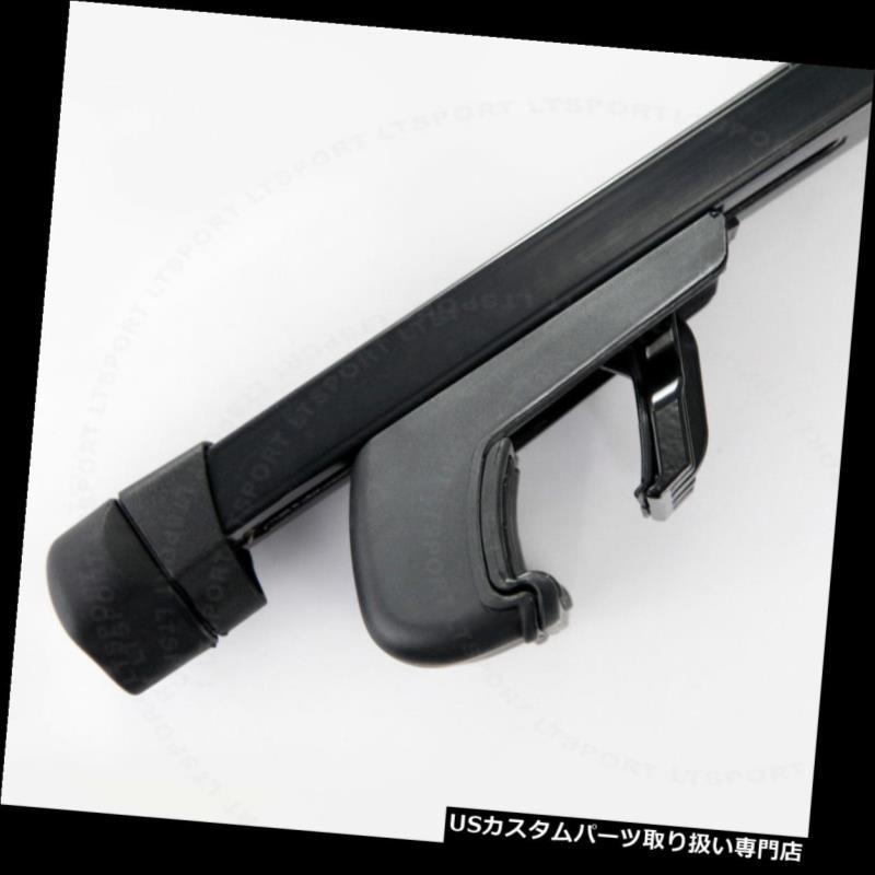 カーゴ ルーフ キャリア 01-12 ACURA MDXヘビーデューティスチールルーフラック53インチクロスバー調節可能キャリア Fit 01-12 ACURA MDX Heavy-Duty Steel Roof Rack 53