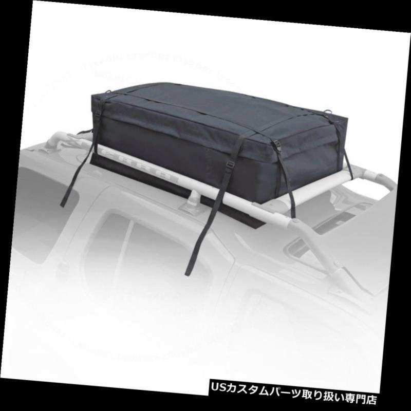 カーゴ ルーフ キャリア 01-14アキュラヘビーデューティールーフトップカーゴトラベル収納バッグキャリアキット Fit 01-14 Acura Heavy-Duty Rooftop Cargo Travel Storage Bag Carrier Kit