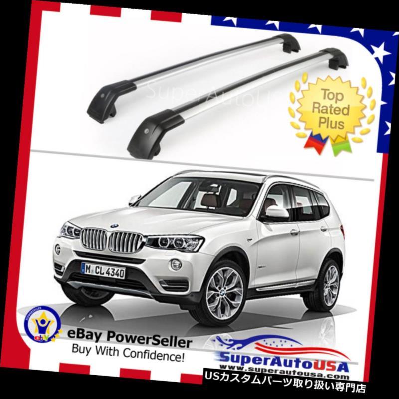 カーゴ ルーフ キャリア トップルーフラックフィットBMW X3 F25 2011-2019手荷物荷物クロスバークロスバーUS Top Roof Rack Fit For BMW X3 F25 2011-2019 Baggage Luggage Cross Bar crossbar US