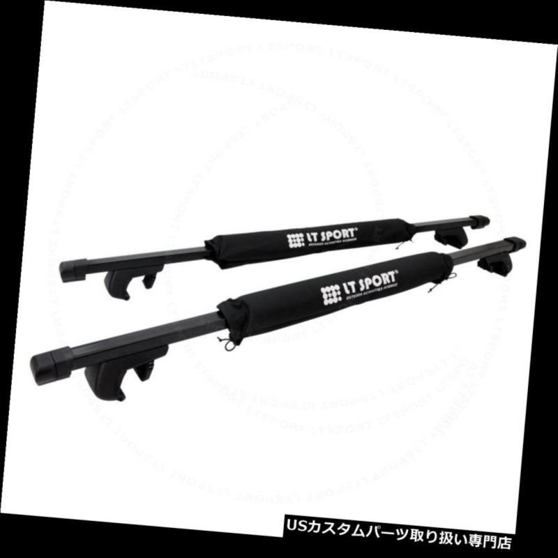 カーゴ ルーフ キャリア SUBARU TRIBECAヘビーデューティールーフラック54インチトップクロスバーキャリア+ラップパッド Fit SUBARU TRIBECA Heavy-Duty Roof Rack 54