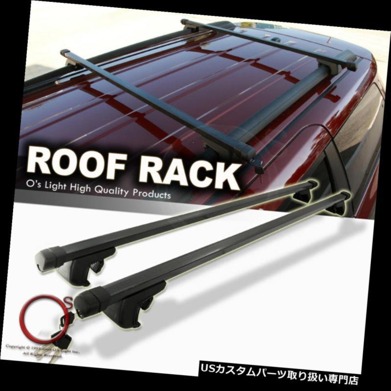 カーゴ ルーフ キャリア マツダCX9 07-12ブラッククロスバーセットルーフラックトップカーゴクロスバー54インチ/ 137cm Mazda CX9 07-12 Black Crossbar Set Roof Rack Top Cargo Cross Bars 54