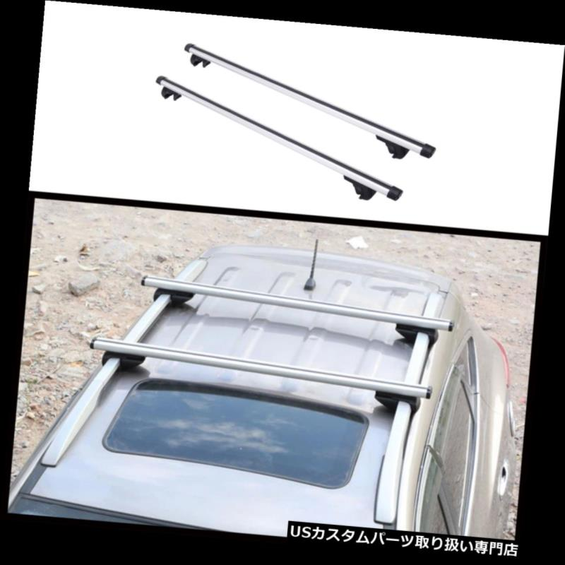 "USカーゴ、ルーフ キャリア 普遍的な53 ""OE様式SUV車の屋根の上の十字棒アルミ合金の貨物運搬船。 Universal 53"" OE Style SUV Car Roof Top Cross Bars Aluminum Alloy Cargo Carrier."