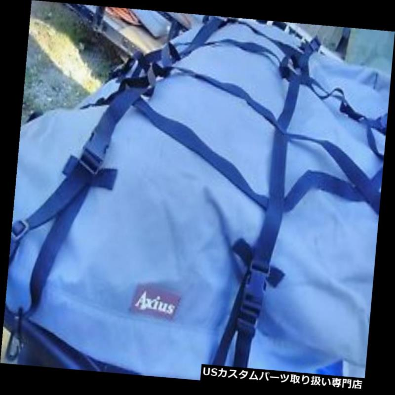 カーゴ ルーフ キャリア Axius車SUVヴァンルーフトップカーゴパック/ルーフキャリアソフト荷物トラベルバッグ Axius Car SUV Van Roof Top Cargo Pack/Roof Carrier Soft Luggage Travel Bag