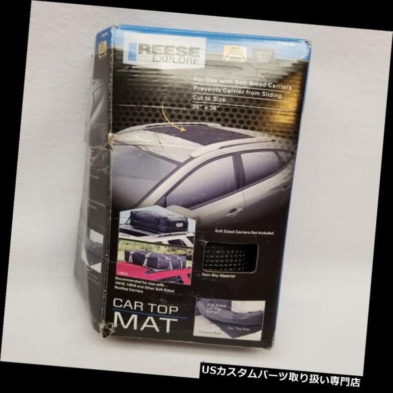 カーゴ ルーフ キャリア カールーフトップマットノンスリップカールーフトッププロテクターマットパッドカーゴキャリア36×36 Car Roof Top Mat Non Slip Car Rooftop Protector Mat Pad Cargo Carrier 36x36
