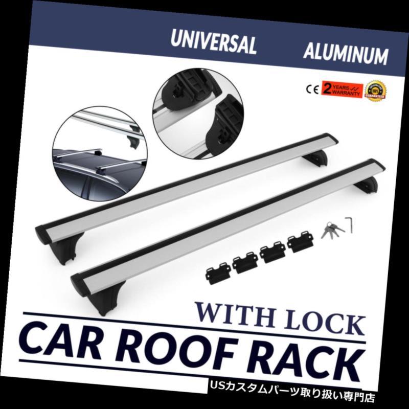 カーゴ ルーフ キャリア アルミルーフラックカー/ SUVクロスバーの荷物/バッグカーゴスクエアバーレール ALUMINUM ROOF RACK CAR/SUV TOP CROSSBAR LUGGAGE/BAG CARGO SQUARE BAR RAIL