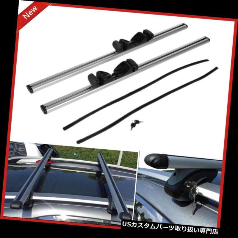 カーゴ ルーフ キャリア 自動車カールーフトップラッククロスバー荷物カーゴストレージキャリアツールC Automobile Car Roof Top Rack Cross Bars Luggage Cargo Storage Carrier Tool C
