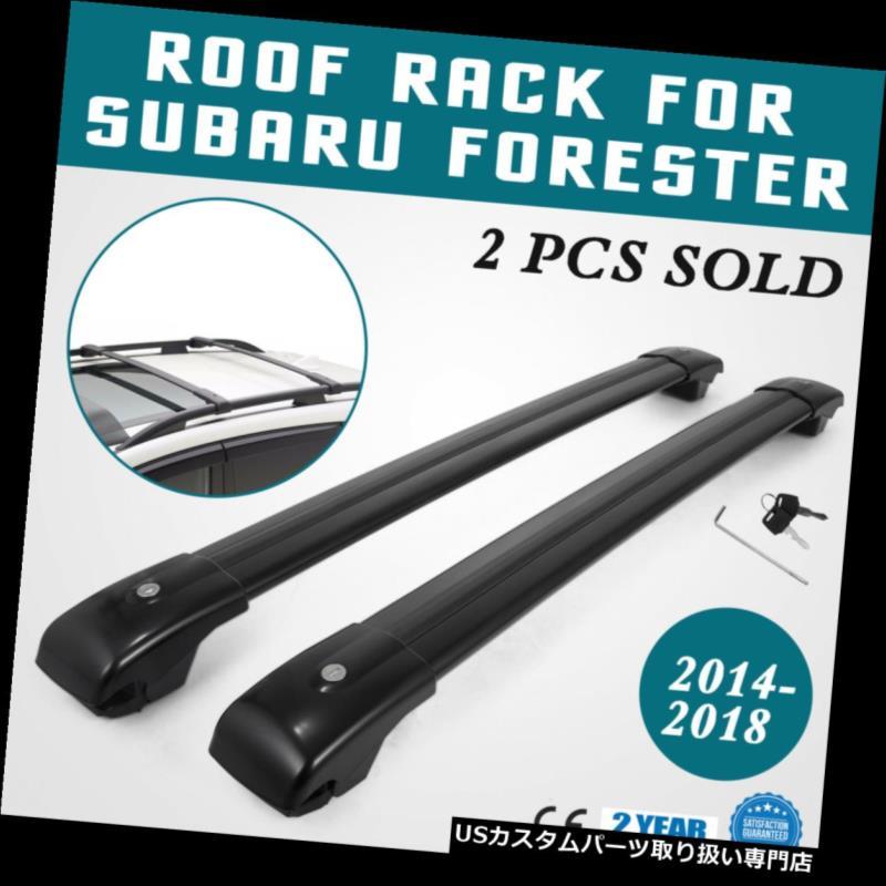 カーゴ ルーフ キャリア スバルフォレスタークロスバー用ルーフラック2014-2018キャリア貨物バーマウント Roof Rack For Subaru Forester Cross Bars 2014-2018 Carrier Cargo bar Mount