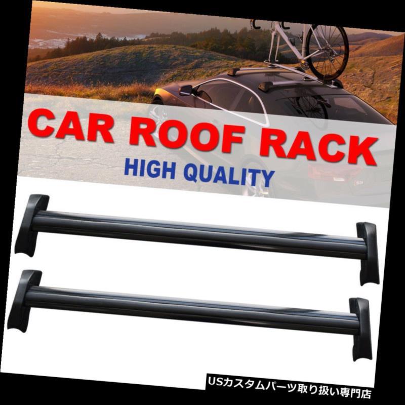 カーゴ ルーフ キャリア 2002-06年ホンダCRVペアアルミルーフラックトップレールクロスバーカーゴキャリア FOR 2002-06 HONDA CRV PAIR ALUMINUM ROOF RACK TOP RAIL CROSS BARS CARGO CARRIER