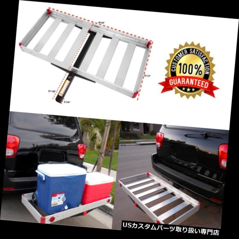 カーゴ ルーフ キャリア けん引ヒッチ貨物運搬船トレーラーSUV車の背部自動車アルミニウム受信機最高 Tow Hitch Cargo Carrier Trailer SUV Car Back Automotive Aluminum Receiver BEST
