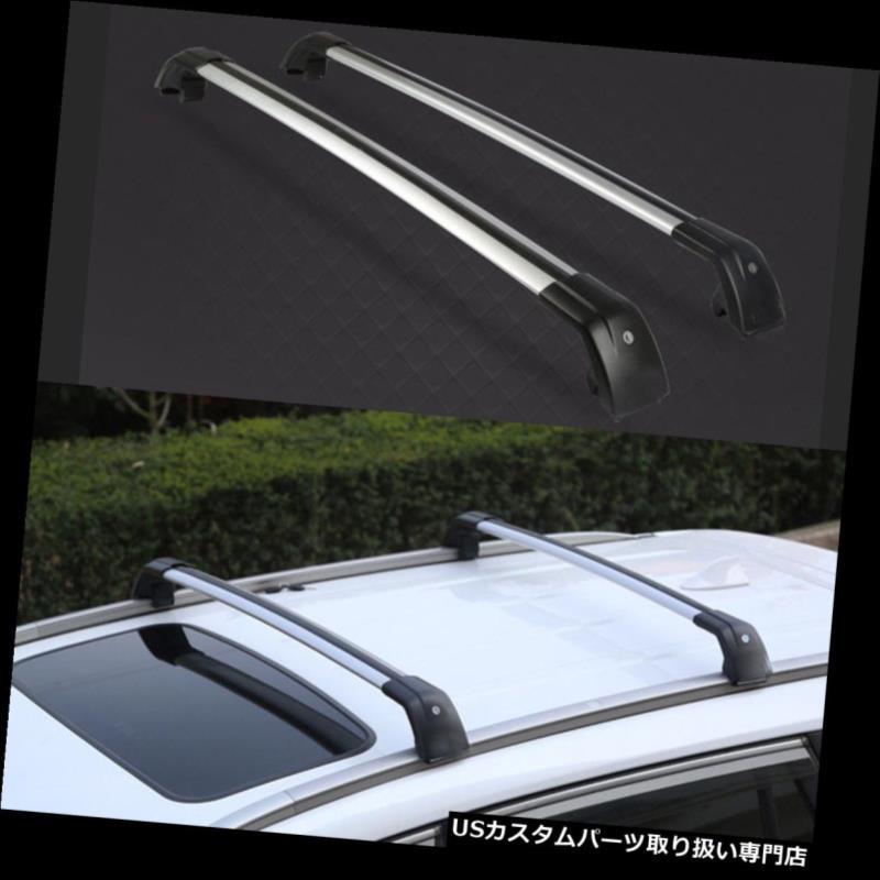 カーゴ ルーフ キャリア リンカーンMKC 2014-2017 2個入りアルミ車の荷物ルーフラックトップカーゴキャリア For Lincoln MKC 2014-2017 2pcs Aluminium Car Luggage Roof Rack Top Cargo Carrier