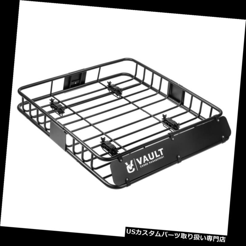 カーゴ ルーフ キャリア 頑丈な貨物管理普遍的な屋根のバスケットbyヘビーデューティ貨物ルーフキャリア Vault Cargo Management Universal Roof Basket by Heavy Duty Cargo Roof Carrier