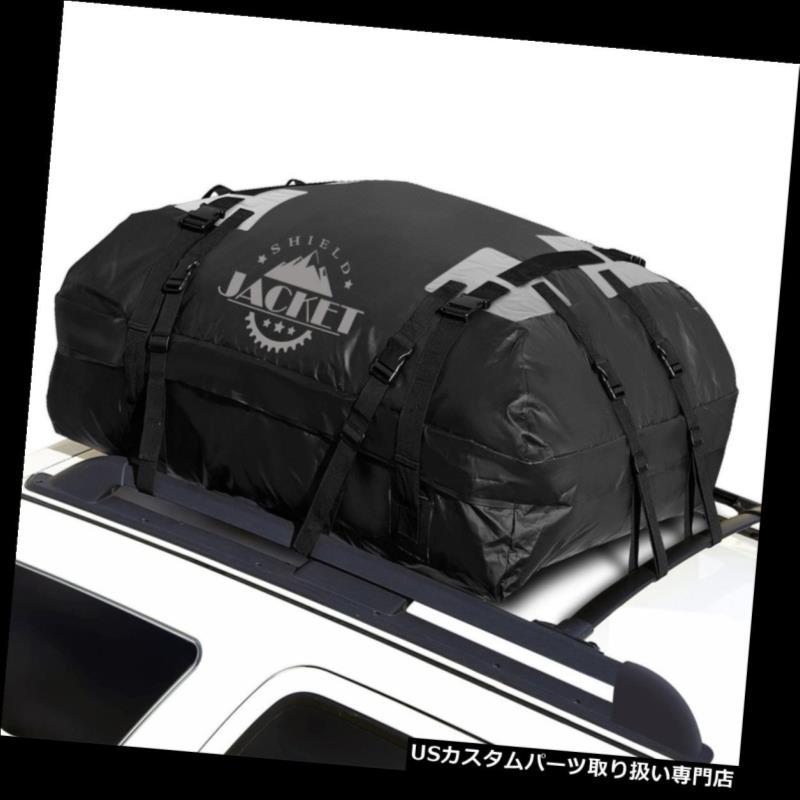 カーゴ ルーフ キャリア 防水ルーフトップ貨物荷物キャリアトラベルバッグ車ヴァンSuv 15立方フィート Waterproof Roof Top Cargo Luggage Carrier Travel Bag Car Van Suv 15 Cubic Feet