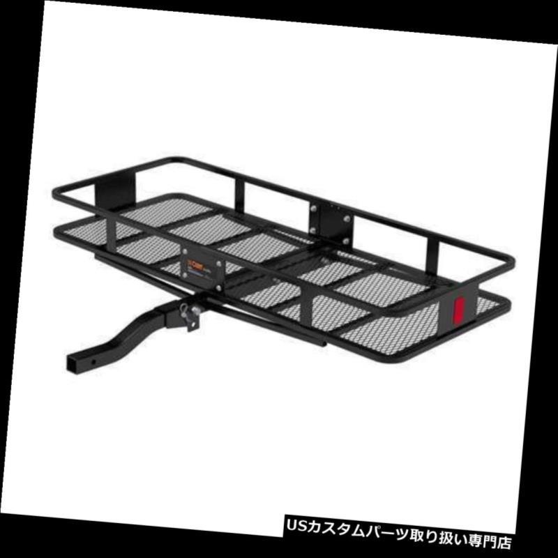 カーゴ ルーフ キャリア カート車折りたたみ式マウントバスケットスタイル最大500ポンド貨物運搬船(オープンボックス) Curt Vehicle Folding Mounting Basket Style Max 500 Lbs Cargo Carrier (Open Box)