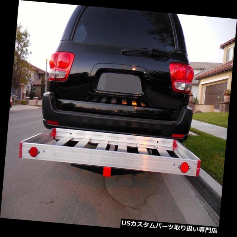 カーゴ ルーフ キャリア 牽引ヒッチ貨物運送業者のトレーラーSUV車の背部自動車アルミニウム受信機最もよい Tow Hitch Cargo Carrier Trailer SUV Car Back Automotive Aluminum Receiver Best