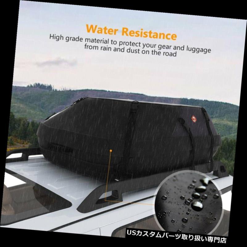 カーゴ ルーフ キャリア 20 CU FTカーゴボックスカールーフトップキャリアトラベル荷物収納荷物SUVジープ 20 CU FT Cargo Box Car Roof Top Carrier Travel Luggage Storage Baggage SUV Jeep
