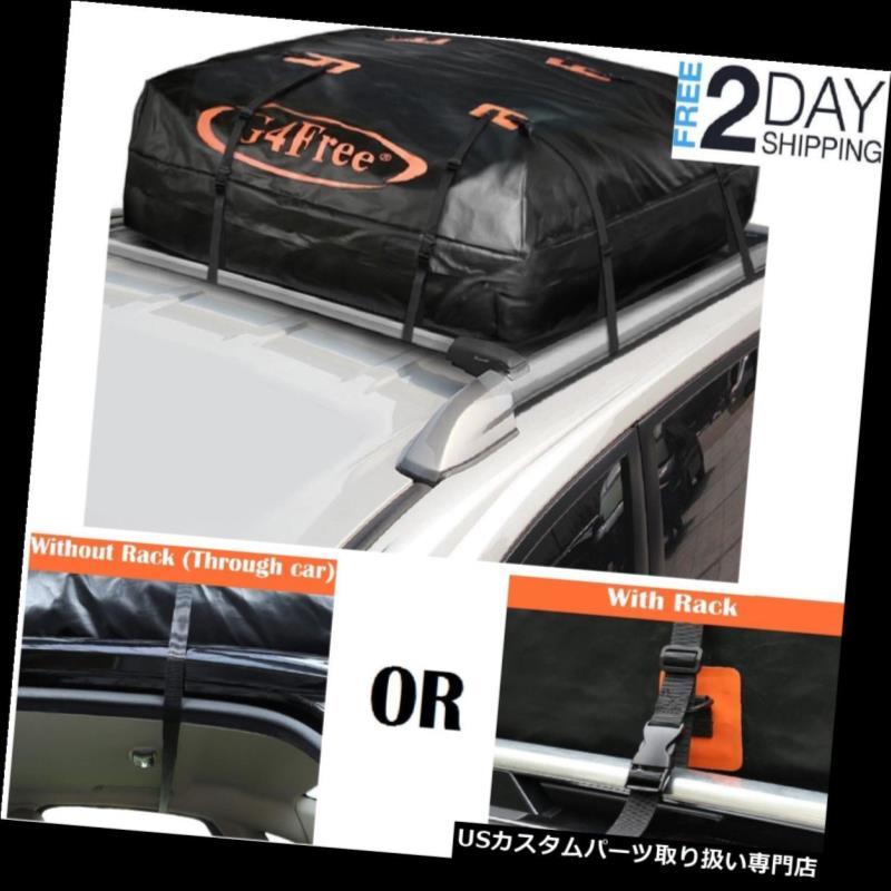 カーゴ ルーフ キャリア 車の屋根の上のキャリアの貯蔵の貨物袋15.5の大きい防水旅行荷物箱 Car Roof Top Carrier Storage Cargo Bag 15.5 Large Waterproof Travel Luggage Box