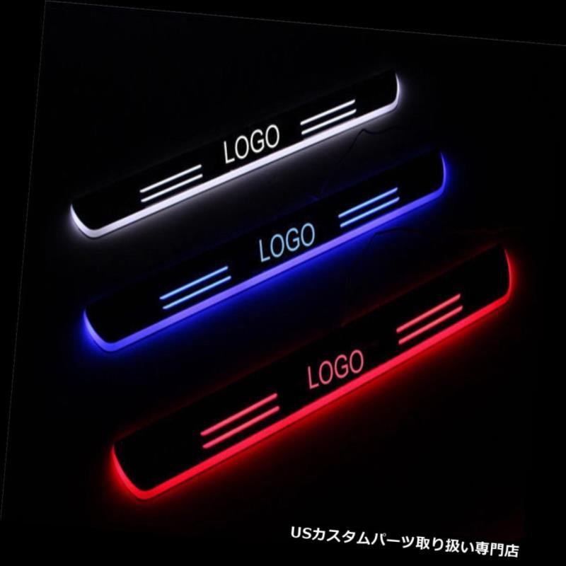 LEDステップライト レクサスESドアスカッフプレート用の移動/点滅 gライトドアシル Led moving/blinking light door sill for Lexus ES door sucff plate