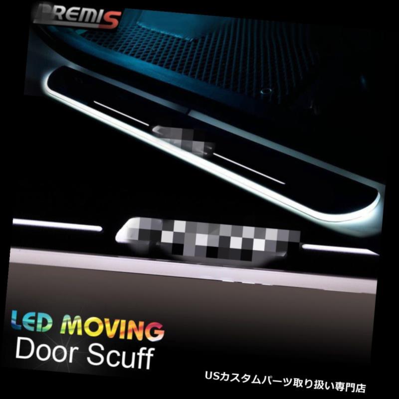 LEDステップライト ホンダシビック12-15のためのLEDのドア敷居の損傷の誘導の多彩な移動ライト LED Door Sill scuff induction Colorful moving light For Honda CIVIC12-15