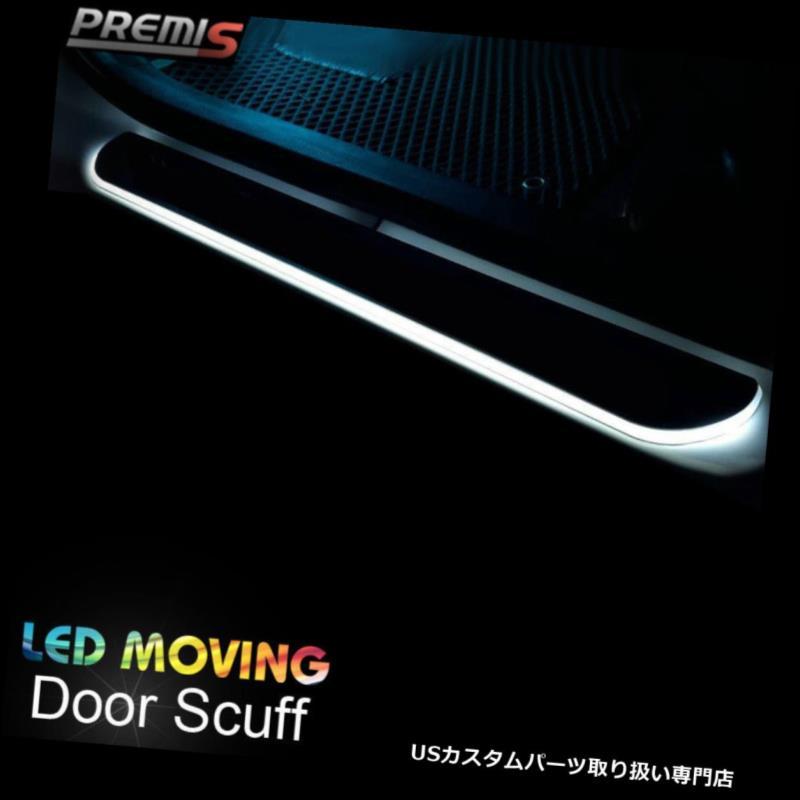 LEDステップライト Acura RLX 2014-2016のためのLEDのドアの土台のすり傷の誘導の多彩な移動ライト LED Door Sill scuff induction Colorful moving light For Acura RLX 2014-2016