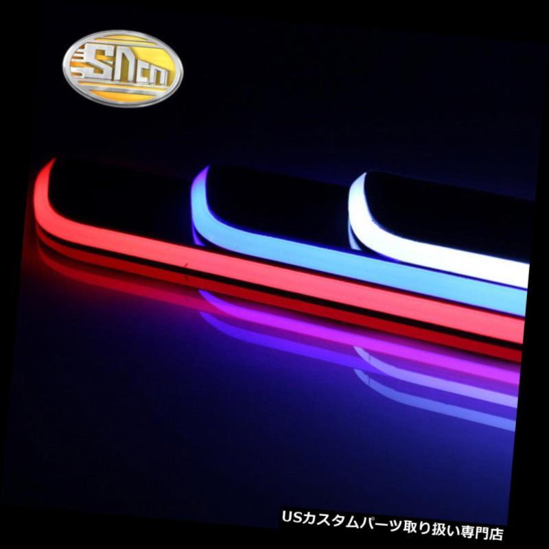 LEDステップライト フォルクスワーゲンティグアンのためのLED車のスカッフプレートトリムペダルLEDドア敷居経路ライト LED Car Scuff Plate Trim Pedal LED Door Sill Pathway Light For Volkswagen Tiguan