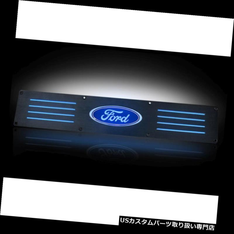 LEDステップライト RECON 264121RFDBKフォードSUPERDUTY 99-15ブラックエンブレムイルミネーションドアシル RECON 264121RFDBK Ford SUPERDUTY 99-15 Black Emblems Illuminated door sill