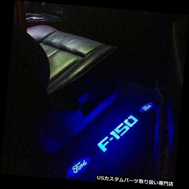 LEDステップライト RECON 264321FDフォードF-150ブラッシュドアルミビレットドアシルブルーLEDライト09-14 RECON 264321FD Ford F-150 Brushed Aluminum Billet Door Sill-Blue LED Light 09-14