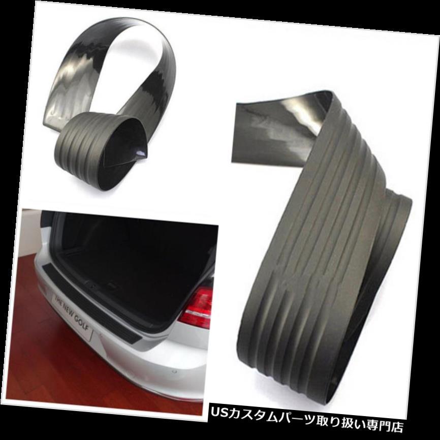 リアバンパー プロテクター 耐摩耗車SUVリアバンパープロテクターガードトリムカバーラバーブラックシル Wear-resisting Car SUV Rear Bumper Protector Guard Trim Cover Rubber Black Sill