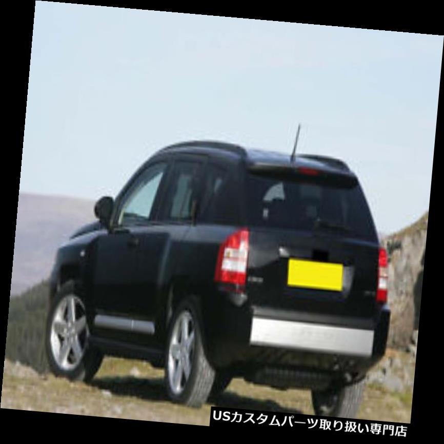 リアバンパー プロテクター ジープコンパス2007-2010 08用VFNリアバンパープロテクターガードシルプレートカバー VFN Rear Bumper Protector Guard Sill Plate Cover For Jeep Compass 2007-2010 08