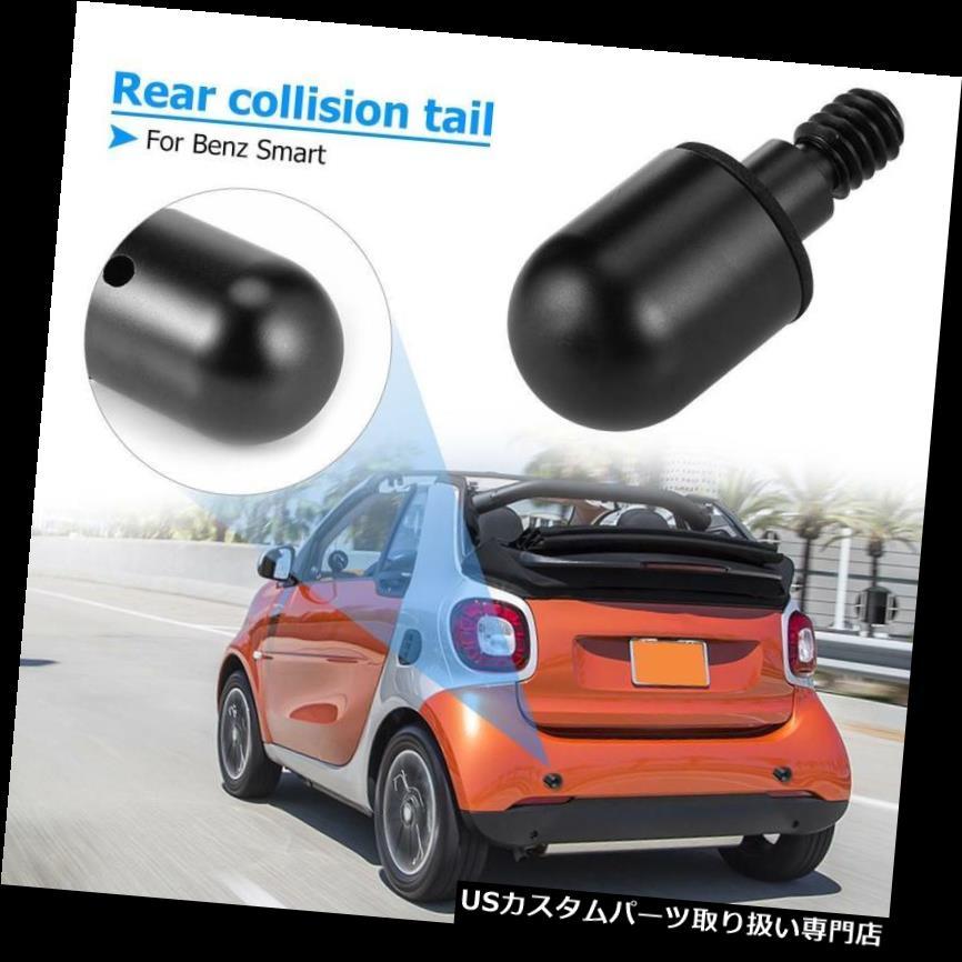 リアバンパー プロテクター スマートなベンツのための122pcsアルミニウム車の後部バンパーの円形の釘の監視保護装置の黒 122pcs Aluminum Car Rear Bumper Round Nail Guard Protector Black For Benz Smart