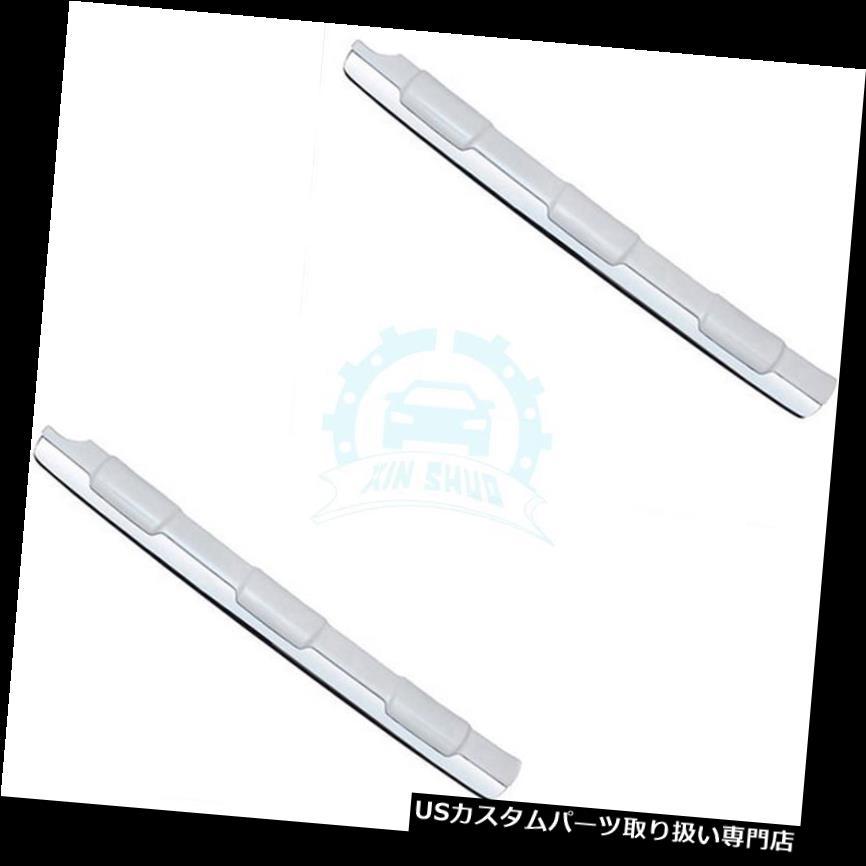 リアバンパー プロテクター トヨタプラド2014-2017年のための車の真珠の白いABSリアバンパープロテクターガードプレート Car Pearl White ABS Rear Bumper Protector Guard Plate For Toyota Prado 2014-2017