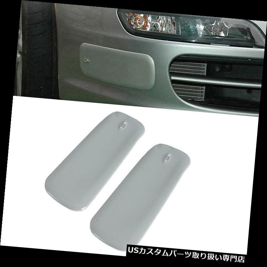 リアバンパー プロテクター 2 *フロントリアバンパーラバーパッドプロテクター左+右コーナーカバーガードユニバーサル 2*Front Rear Bumper Rubber Pad Protector Left+Right Corner Cover Guard Universal