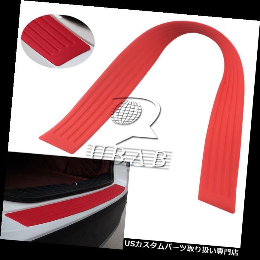 リアバンパー プロテクター ラバーカートランクリアバンパープロテクターシルプレートガードスクラッチガードパッド35.4