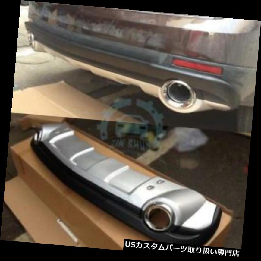 リアバンパー プロテクター 1ピース自動リヤバンパースキッドプロテクターガードプレートフィット用キャデラックSRX 2014-2015 1PC Auto Rear Bumper Skid Protector Guard Plate Fit For Cadillac SRX 2014-2015