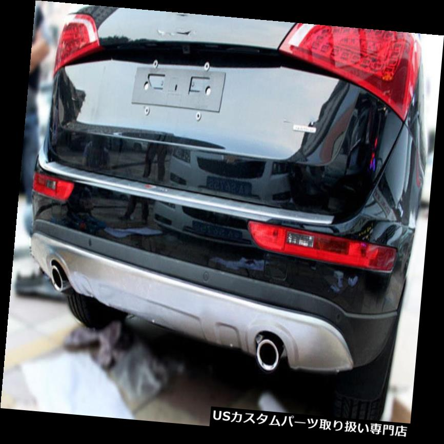リアバンパー プロテクター アウディQ5 2013-2016用スチールフロント&リアバンパースキッドプロテクターガードプレート steel front and rear bumper skid protector guard plate For Audi Q5 2013-2016