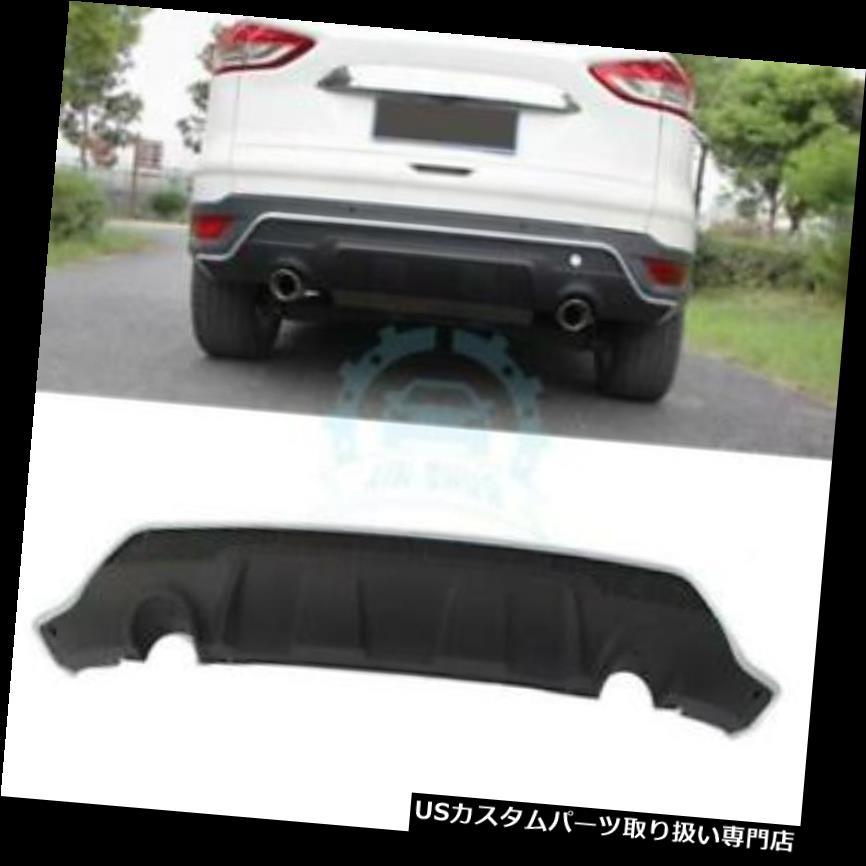 リアバンパー プロテクター 1 * ABSブラックリアバンパースキッドプロテクターガードプレートフィットフォードクガ/エスケープ2017 1*ABS Black Rear Bumper Skid Protector Guard Plate Fit For Ford Kuga/Escape 2017