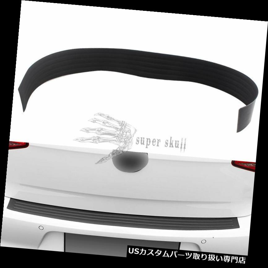 リアバンパー プロテクター ラバーカートランクリアバンパープロテクターシルプレートガードスクラッチガードパッド35.43