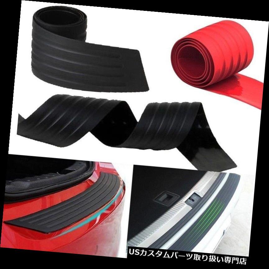 リアバンパー プロテクター 1 *車のSUVリアトランクシルシルプレートバンパーガードプロテクターラバーパッドカバーブラックNT5 1*Car SUV Rear Trunk Sill Plate Bumper Guard Protector Rubber Pad CoverBlack NT5