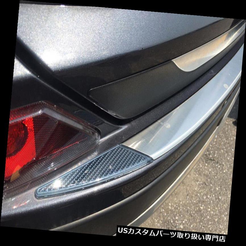 リアバンパー プロテクター トヨタRAV4 2016-2018用ステンレス製インテリアリアバンパープロテクターガードカバー Stainless Interior Rear Bumper Protector Guard Cover For Toyota RAV4 2016-2018