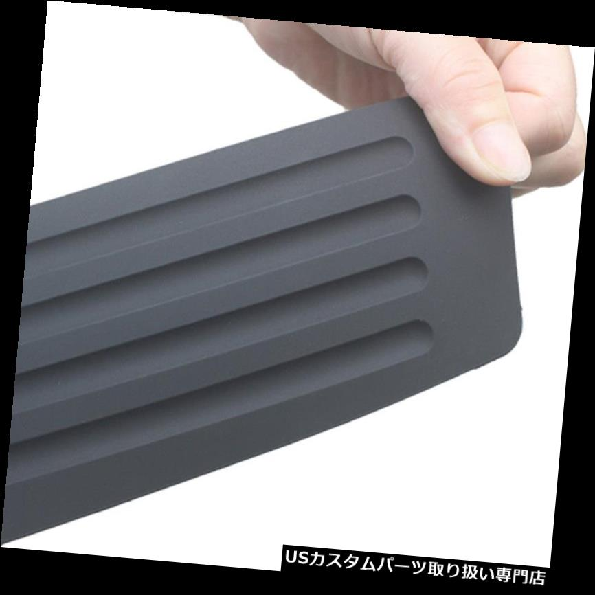 リアバンパー プロテクター ゴム製車体トランク後部シルプレートガードバンパープロテクターパッドカバーアンチスクラッチ Rubber Car Trunk Rear Sill Plate Guard Bumper Protector Pad Cover Anti-Scratch