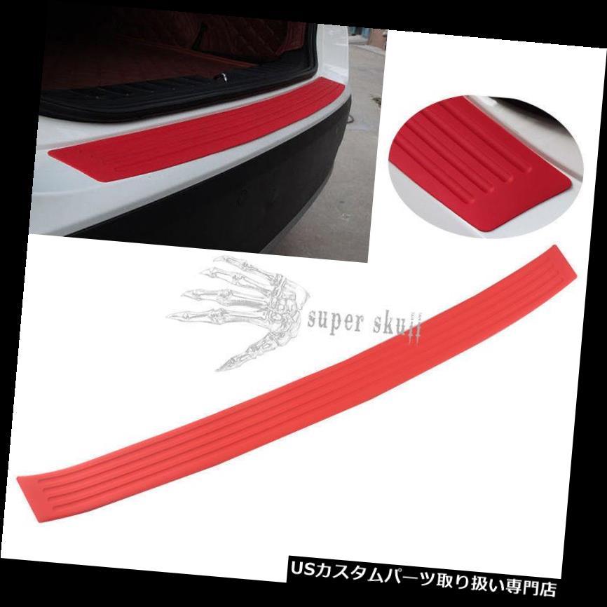 リアバンパー プロテクター ゴム車のトランクリアバンパープロテクターシルプレートガードスクラッチガードパッド900mm Rubber Car Trunk Rear Bumper Protector Sill Plate Guard Scratch Guard Pad 900mm